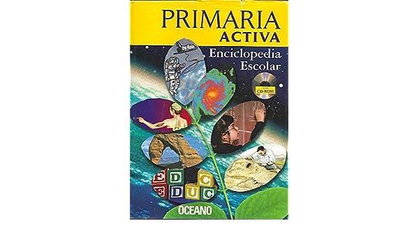 Primaria Activa Enciclopedia Escolar/Active Primary School Encyclopedia (Spanish Edition): Gale: 9788449423307: Amazon.com: Books