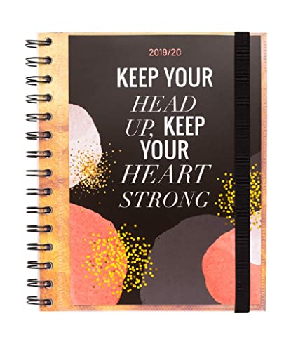 Amazon.com : Glitter Weekly Planner, Dated Middle School or ...