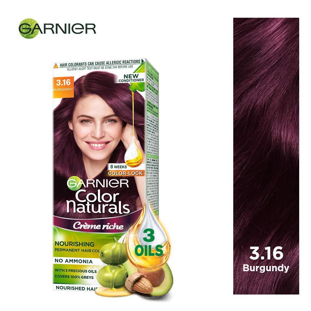 Buy Garnier Color Naturals Shade 316 Burgundy Online At Low