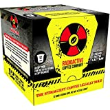 Radioactive Coffee, THE STRONGEST COFFEE LEGALLY SOLD, Single Serve Capsules for Keurig K-Cup Brewers, 12 Count