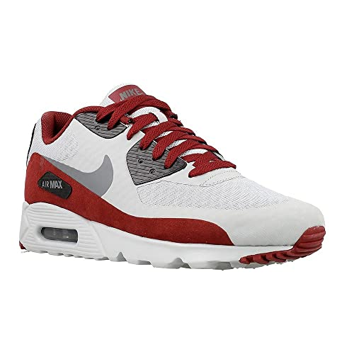 Nike Air Max 90 Ultra Essential Wolf Grey Team Red