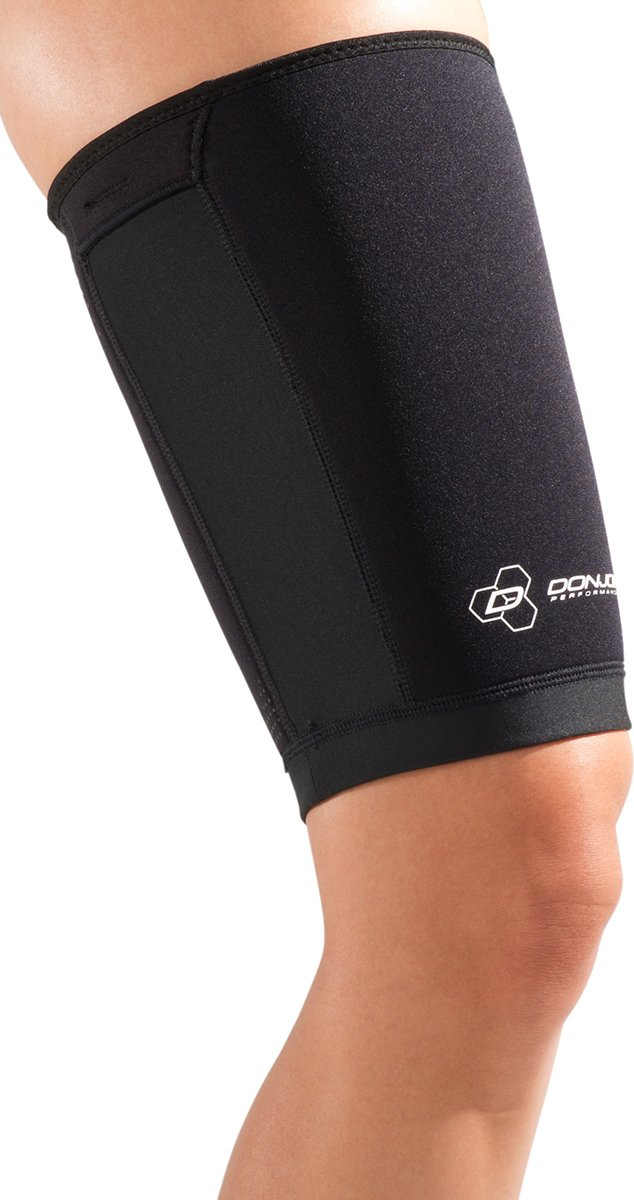 DonJoy Performance ANAFORM Thigh Compression Sleeve: Black, Large