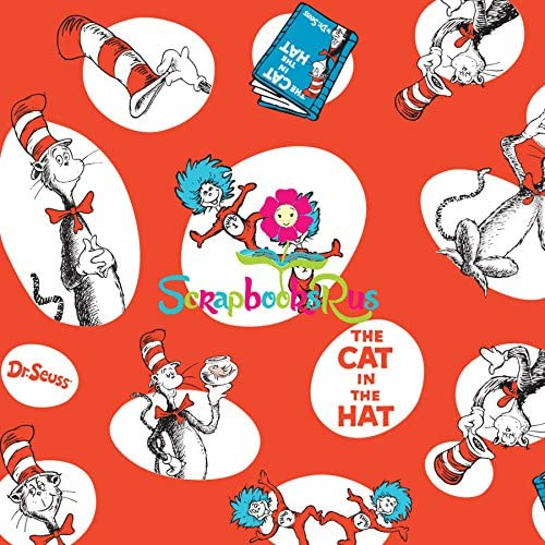 Reminisce WACKY /& WILD 12x12 Cardstock Sticker Sheet scrapbooking CAT HATS