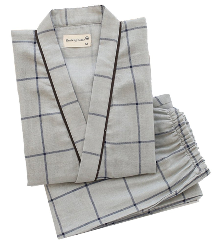 Marshel Japanese Traditional Loungewear Summer Robe Comfortable Samurai Ninja