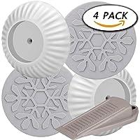 Paxcoo 4Pcs Almohadillas de seguridad de pared