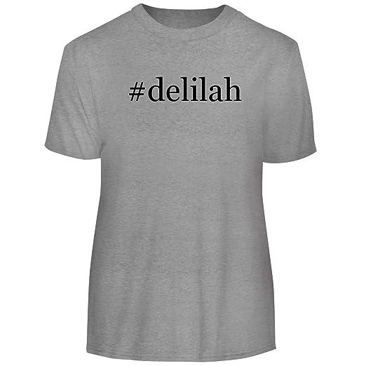 ec83f374dad Amazon.com  One Legging it Around  Delilah - Hashtag Men s Funny Soft Adult Tee  T-Shirt  Clothing