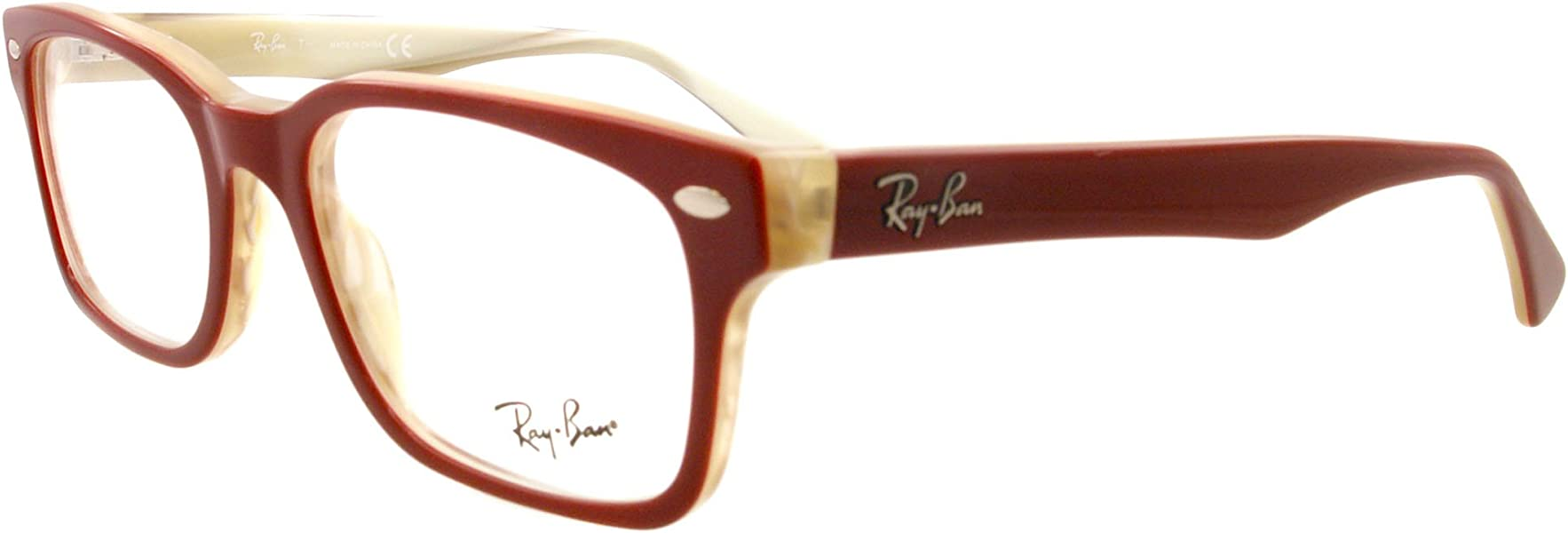 b62a07c4d60 Amazon.com  Ray-Ban Eyeglasses RB 5286 RED 5152  Ray-Ban  Shoes