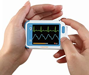 Heart Monitor, Personal Heart Health Monitor with PC Software, Portable Handheld Heart Monitoring Device