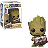 Funko Pop! GOTG: Groot con cassette - Marvel Collector Corps Exclusive