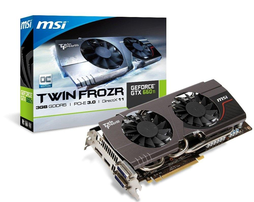 MSI N660TI TF 3GD5/OC GeForce GTX 660 Ti 3GB GDDR5 - Tarjeta ...