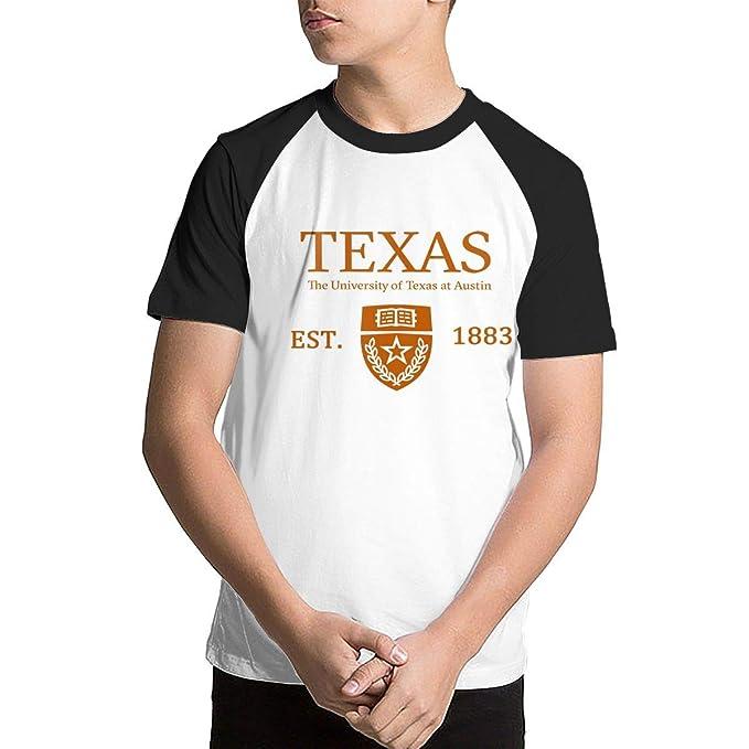 478e4536c68 Boys Teen Youth T-Shirts - University of Texas at Austin Established 1883  Black