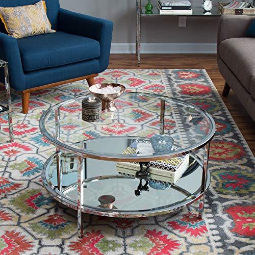 Belham Living Lamont Round Coffee Table - Chrome Belham Living Lamont Round Coffee Table - Chrome (Outdoor Brisbane Tables)
