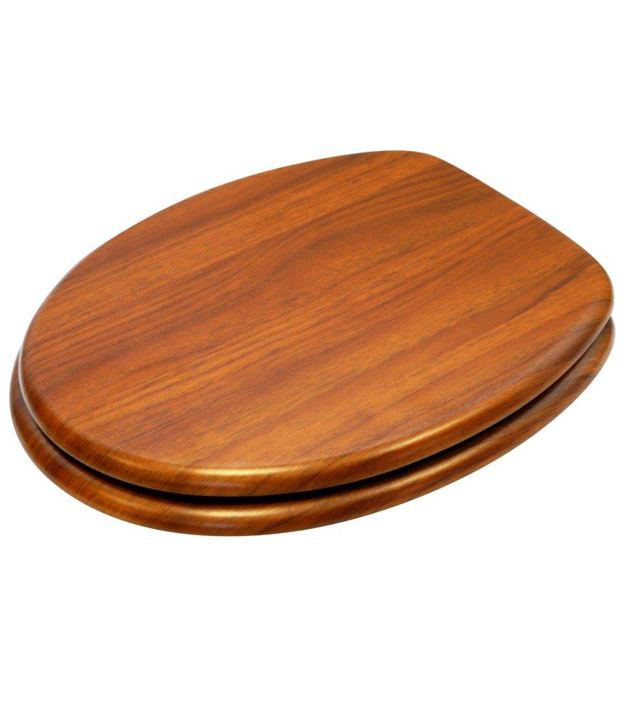 Abattant WC Grande s/élection de abattants wc en bois Finition de haute qualit/é Carte du monde