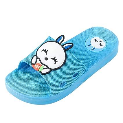 US Baby Kids Cartoon Slipper Shoes Boy Girl Anti-slip Soft Sole Crib Shoes 3-11M