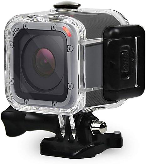 Hero 4 Session Hero Session Action Camera Accessoires/ Eyeon Bo/îtier /Étanche 45M Protection Cas Plong/ée Protecteur /Étui pour GoPro Hero 5 Session