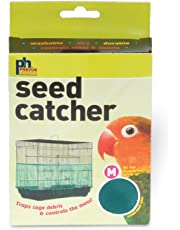 """Prevue Pet Products Seed Guard Nylon Mesh Bird Seed Catcher, 8"""""""