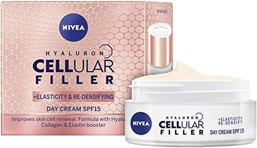 NIVEA Anti Age Hyaluron Cellular Filler Day Cream SPF15, 50ml