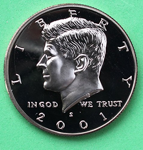 2001 S Gem Proof Kennedy Half Dollar US Coin Half Dollar Uncirculated US Mint (25 Cents 1932)