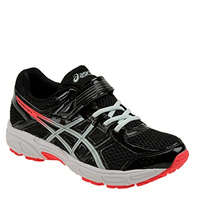 asics kids black