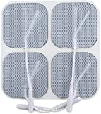 Intensity at Home TENS Unit Pads, Replacement Electrode Pads, Flexible, Multiple Use, Self-Adhesive Electrodes for TENS Unit, 8 Count