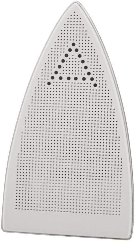Polti PAEU0200 Plantilla Teflon anti brillos Vaporella para planchas profesionales, Acero, Color blanco