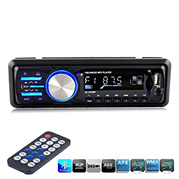 Ranipobo 1010bt car audio stereo player bluetooth digital media ranipobo 1010bt car audio stereo player bluetooth digital media receiver aux in mp3 fm usb publicscrutiny Images