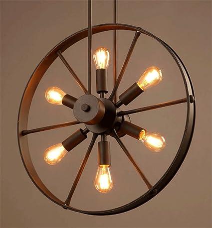 Retro diseño industrial lámpara colgante de estilo Loft ...
