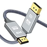 Displayport to HDMI 1.8M,Snowkids DP to HDMI Cable High Speed Display Port to HDMI Support 4K 30Hz,1080P,2K 60Hz