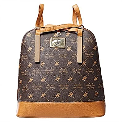 Beverly Hills Polo Club Satchel Bag for Women - Brown  Amazon.co.uk  Shoes    Bags 8a607b85a6c46