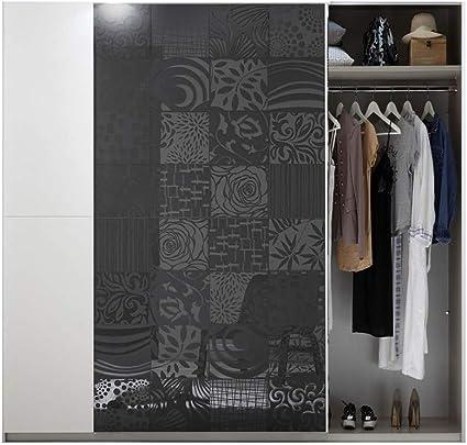LIGNEUBLE LOLY BLANCO Y GRIS CAMBRA DE DISEÑO - El conjunto con armario 220 con revestimiento luminoso + cama 160 + juego de 2 gatos + cómoda: Amazon.es: Iluminación
