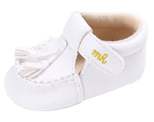Niña Zapatos Para Primeros 9mesi SizePer Pasos Blanco 6