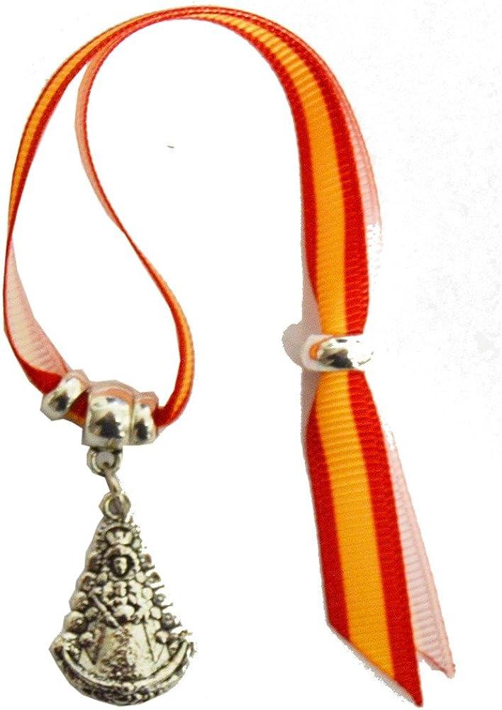 Pulsera Virgen del Rocio España ZAMACK 14 cm: Amazon.es: Zapatos y ...