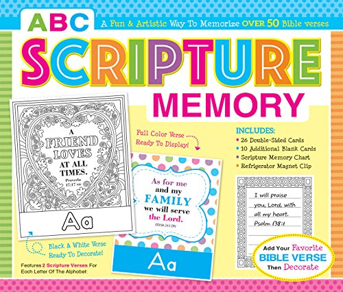Learning Memory Box (ABC Scripture Memory Boxed Set (I'm Learning the Bible Flash Cards))