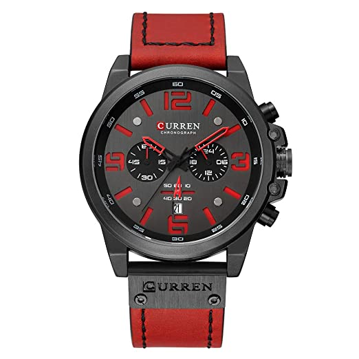 Amazon.com: XBKPLO Quartz Watches for Men Sports Waterproof ...