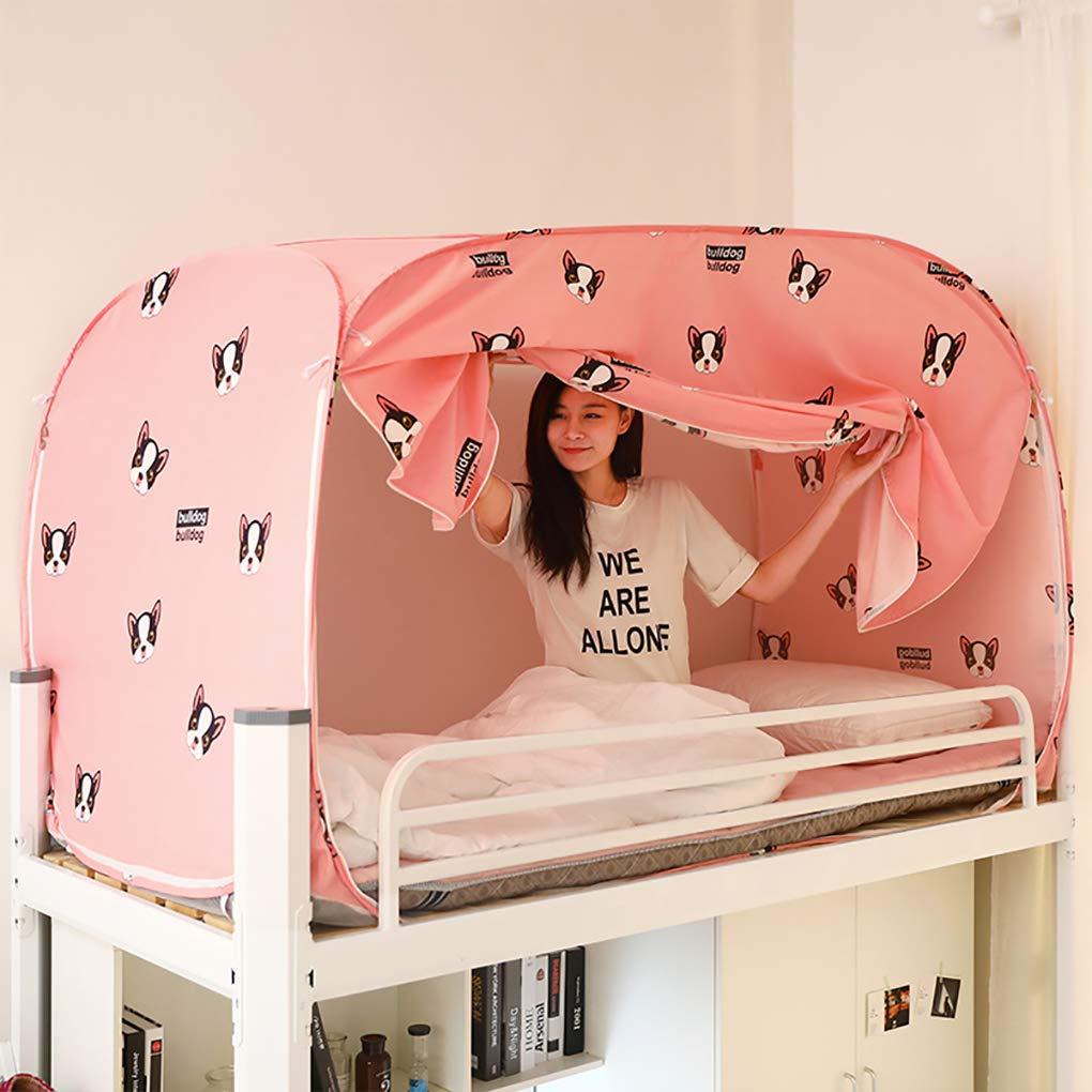 XNNSH カーテン 学生寮のベッド用 二段ベッド 寝室の装飾 折りたたみ式 蚊帳 キャンプ 蚊帳 ベッドキャノピー 120x190x100cm 521-602-145 B07Q45CJ9T  120x190x100cm