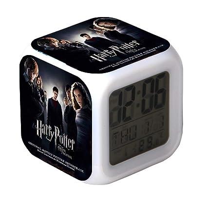 L-Hipter Harry Potter Alarm Clock, Colorful Creative Digital ...