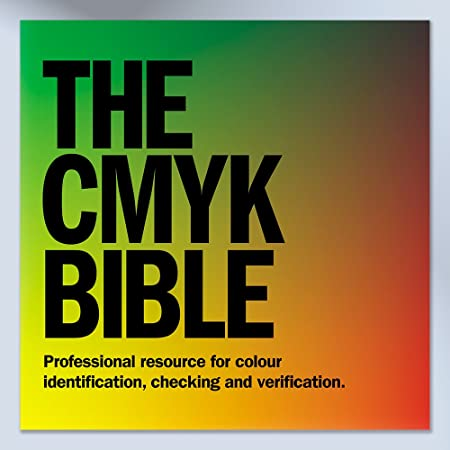 CMYK Colour Swatch Book for Creative Graphic Design Branding