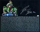 #9: Jason Kelce Signed 16x20 Eagles Super Bowl 52 Parade Speech Transcript Photo JSA