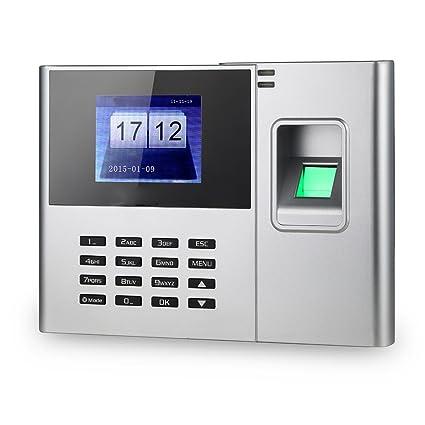 """KKmoon 2.8"""" Asistencia Biométrico de Huellas Dactilares Tiempo ,Color Blanco"""