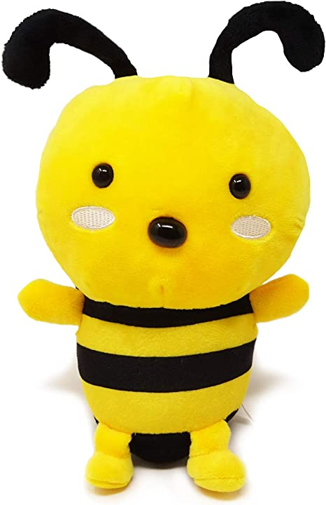 Hess 12165 Wooden Bee with Clips Baby Toy Multi-Color 8 cm