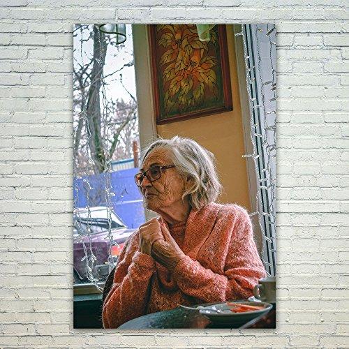 Westlake Art Poster Print Wall Art - Senior Citizen - Modern Picture Photography Home Decor Office Birthday Gift - Unframed - (Senior Citizen Costumes)