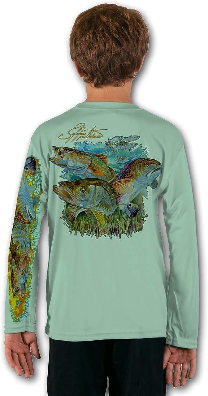 Baby Girls Kids Bass Fishing ComfortSoft Long Sleeve Shirt