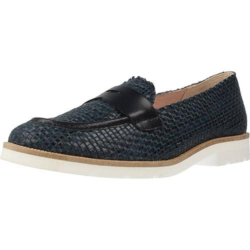 Mocasines para Mujer, Color Azul, Marca KESS, Modelo Mocasines para Mujer KESS 16156M Azul: Amazon.es: Zapatos y complementos