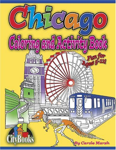 Books : Chicago Coloring and Activity Book (City Books)