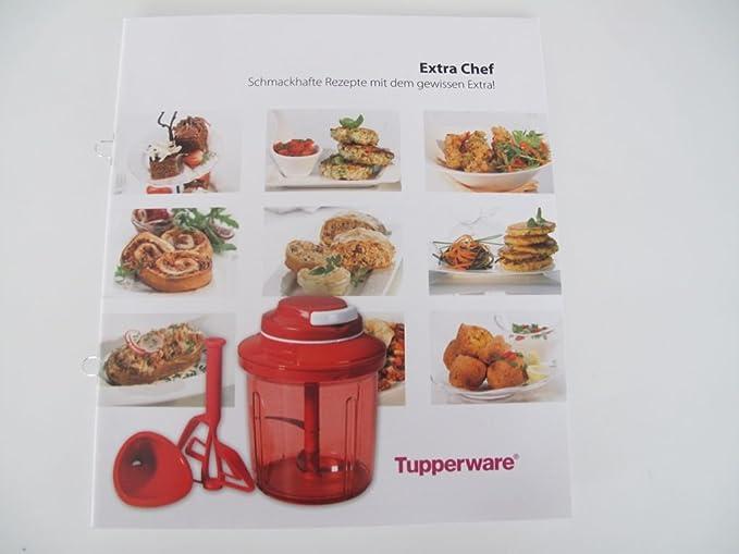 TUPPERWARE recetas libro de cocina Extra chef robot multichef Quick Turbo recetas: Amazon.es: Hogar