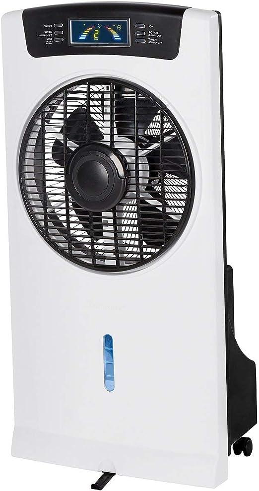 genialo - Ambientador 4 en 1, Ventilador, humidificador ...