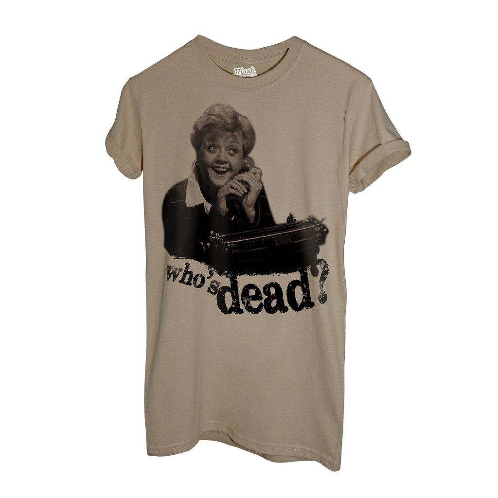 Film by Dress Your Style Who IS Dead MUSH T-Shirt Signora Fletcher Telefono