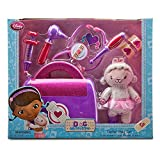 Doc McStuffins 9 Piece Doctor Bag Set - Includes Talking Stethoscope and Lambie Plush