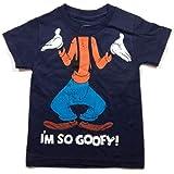 Camiseta Disney para meninos I'm So Pateta - Azul-marinho
