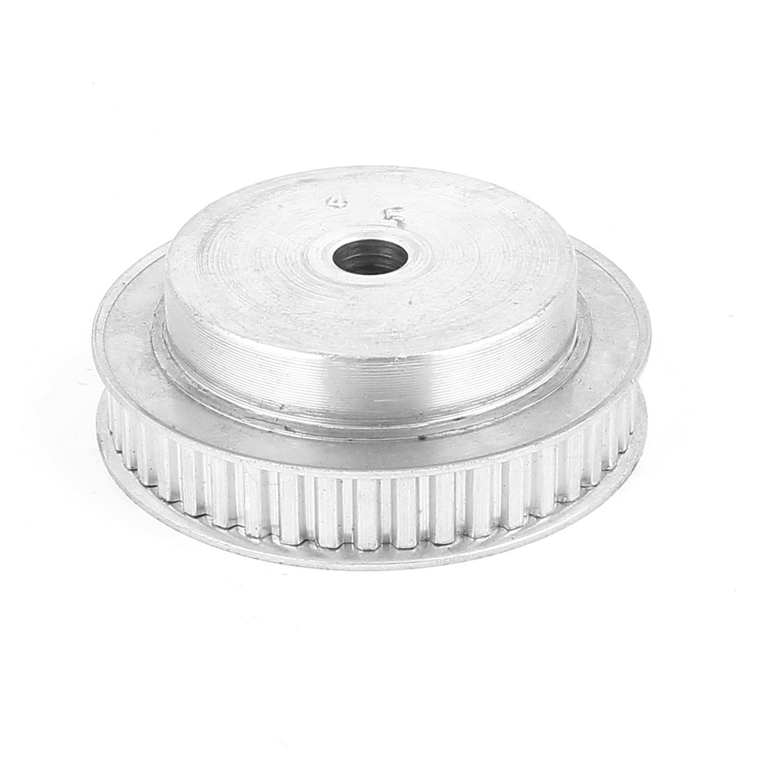 uxcell Aluminum Alloy XL45 45 Teeth 9.5mm Bore Dia Double Flanged Motor Drive Synchronous Timing Pulley